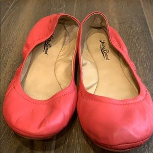 Pink Lucky Brand slip ons